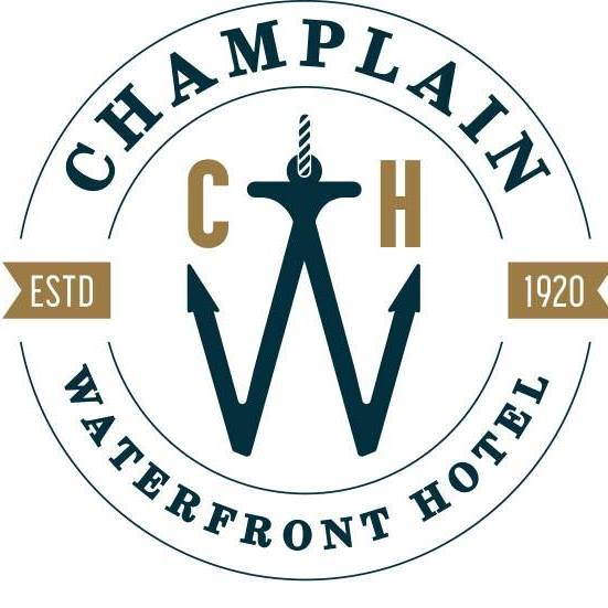 The Champlain Waterfront Hotel, an Ascend Hotel Collection logo