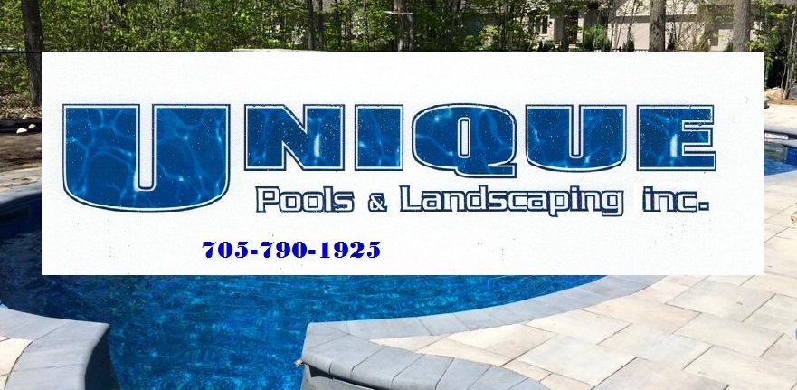 Unique Pools & Landscaping Inc. logo